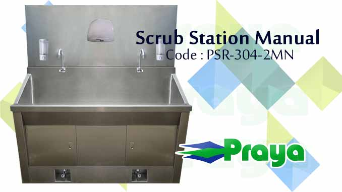 Scrub Station Manual 2 Person