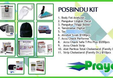 Posbindu Kit | Pos Pembinaan Terpadu PTM